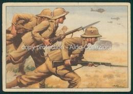 Militari  Franchigia Cartolina Per Le Forze Armate Baionette Dell'asse FG M277 - Non Classificati