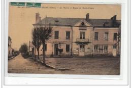 SAINT MARTIN D'AUXIGNY - La Mairie Et Route De Saint Palais - Très Bon état - Frankrijk