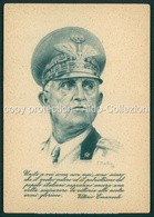 Militari  Franchigia Cartolina Per Le Forze Armate Vittorio Emanuele FG M280 - Italia