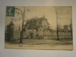 Rambouillet Entrée Du Château Du Vieux Moulin,Yvelyne 78,voyagée Environ1912,très Bel état,pas Commun,envoi En Lettre é - Rambouillet