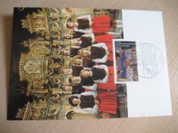 BERLIN 1988 Jugend Musiziert Kinderchor Maxi Maximum Card GERMANY Music - Muziek