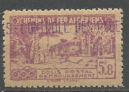 ALGERIE COLIS POSTAUX N° 122 NEUF** Luxe SANS CHARNIERE  / MNH - Paketmarken