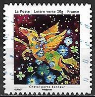 FRANCE   -   2013 . Y&T N° 908 Oblitéré .  Cheval Volant - Autoadesivi