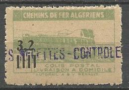 ALGERIE COLIS POSTAUX N° 130 NEUF** Luxe SANS CHARNIERE  / MNH - Paquetes Postales