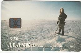 Alaska - Alaskan Eskimo Hunter 3.50 $ - Télécartes