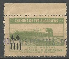 ALGERIE COLIS POSTAUX N° 132 NEUF** Luxe SANS CHARNIERE  / MNH - Paketmarken