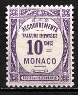 MONACO 1924 / 1932  N° 14  NEUF** - Impuesto