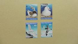Antarctique > Dépendance De Ross (Nouvelle Zélande) WWF  :4 Timbres Neufs - Neufs