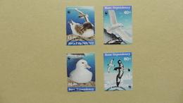 Antarctique > Dépendance De Ross (Nouvelle Zélande)  WWF  : 4 Timbres  Oblitérés - Neufs
