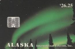 Alaska - Northern Lights - Tarjetas Telefónicas