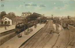 CHALONS SUR MARNE LA GARE ARRIVEE DU TRAIN - Châlons-sur-Marne