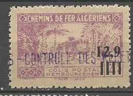 ALGERIE COLIS POSTAUX N° 142 NEUF** Luxe SANS CHARNIERE  / MNH - Paquetes Postales