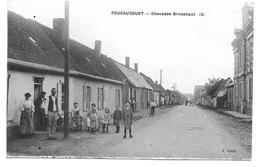 80 FOUCAUCOURT ( Somme )    Chaussée Brunehaut ( 2 ) - France