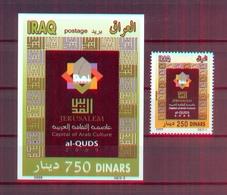 Iraq/Irak 2009 - Al-Quds Capital Of Arab Culture - Minisheet + Stamp - MNH* - Excellent Quality - Iraq