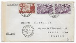 SPM - 1951 - ENVELOPPE Par AVION De SAINT PIERRE ET MIQUELON => PARIS - - St.Pierre & Miquelon