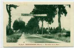 51 - SOMMESOUS - Carrefour De La Mort - - Autres Communes