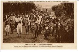 BASUTOLAND  -  ( LESOTHO )  -  Ecole De Nazareth Tenue Par Les Soeurs Européennnes Et Indigènes De La Sainte Famille - Lesotho