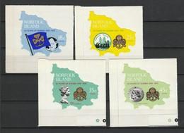 ILE NORFOLK  1978 YT N° 204 à 207 ** - Norfolk Island