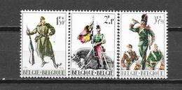 België 1964 Y&T Nr° 1293/95 (**) - Unused Stamps