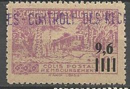 ALGERIE COLIS POSTAUX N° 139  NEUF** Luxe SANS CHARNIERE  / MNH - Paquetes Postales