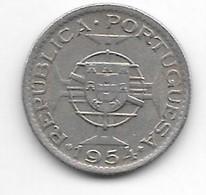 Mozambique,2,5 Escudos 1954 Km 78  Vf+ - Mozambique