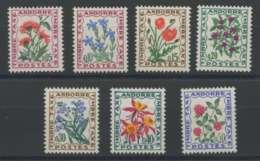 Andorre (1964) Taxe N 46 A 52 (Luxe) - Sellos