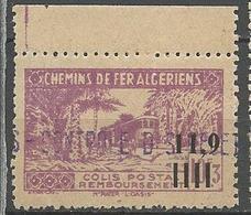 ALGERIE COLIS POSTAUX N° 141  NEUF**  SANS CHARNIERE  / MNH - Paquetes Postales