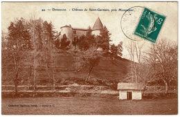 CPA 24 Gaugeac. Château De Saint-Germain, Près Monpazier, 1911 - Andere Gemeenten