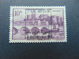 Très Beau N°. 10(*) De La Poste Aérienne Militaire - Bâtiment De Ligne Richelieu - Timbre Non Signé - Guerres