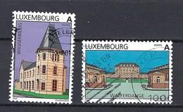 Luxemburg 2000, Nr. 1495-96 Sehenswürdigkeiten Gestempelt Luxembourg - Used Stamps
