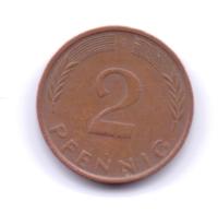 BRD 1971 G: 2 Pfennig, KM 106a - 2 Pfennig