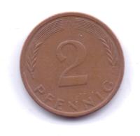 BRD 1971 D: 2 Pfennig, KM 106a - 2 Pfennig