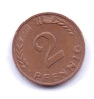 BRD 1970 F: 2 Pfennig, KM 106a - 2 Pfennig