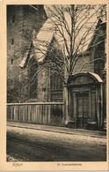 Ansichtskarte Erfurt Laurentiuskirche Im Winter 1913 - Erfurt