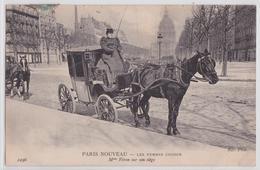 Paris Nouveau - Les Femmes Cocher Mme Véron Sur Son Siège - Straßenhandel Und Kleingewerbe