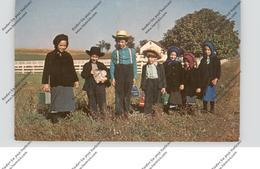 USA - PENNSYLVANIA - LANCASTER, Amish Country, Amish School Children - Lancaster