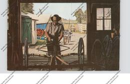 USA - PENNSYLVANIA - LANCASTER, Amish Country, Amish Carriage Maker - Lancaster