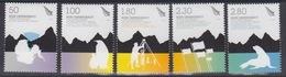 Ross, N° 120 à 124 (cinquantenaire Du Traité De L'Antarctique) Neuf ** - Neufs