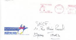 France-Jaunay Clan-30/9/1987-Martin-Osés- Illustration: Pingouin - Pingouins & Manchots