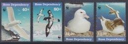 Ross, N° 56 à 59 (Pétrel, Damier, Fulmar, Pétrel Antarctique) Neuf ** - Neufs
