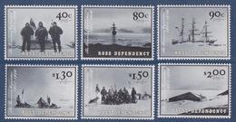 Ross, N° 84 à 89 (centenaire De L'expédition Discovery, Membres, Navire, Abri...) Neuf ** - Neufs