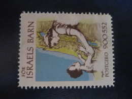 For ISRAEL Barn Denmark Poster Stamp Vignette Label - Autres