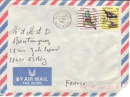 AUSTRALIE : 1982 - Lettre Par Avion Pour La France - Oiseaux - 1980-89 Elizabeth II
