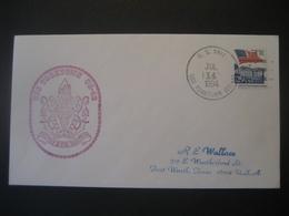 Vereinigte Staaten- Beleg Mit Cachetstempel USS Yorktown CG - 48 - Colecciones & Lotes