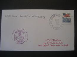 Vereinigte Staaten- Beleg Mit Cachetstempel USS Klakring FFG 4,2 - Colecciones & Lotes