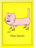SINE  - Ed PULCINELLA  - Humour  CHAT  Chat Banais Maison Close Le Chabanais  -   CSPM  10,5x15  TBE Neuve - Sine