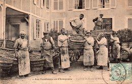 CPA Les Vendanges En Champagne - L'arrivée Du Raisin Au Pressoir. - Zonder Classificatie
