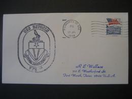 Vereinigte Staaten- Beleg Mit Cachetstempel USS Estocin - Colecciones & Lotes