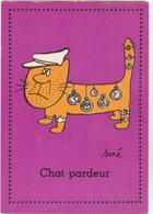SINE  - Ed PULCINELLA  - Humour  CHAT  Chat Pardeur  Montre Voleur -   CSPM  10,5x15  BE - Sine
