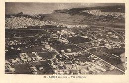 CPA AK MAROC RABAT En Avion Vue Générale Flandrin (38133) - Rabat